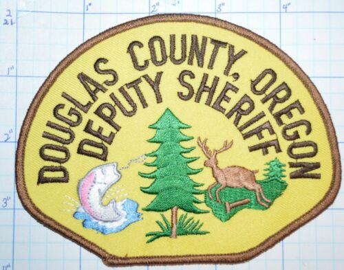 OREGON, DOUGLAS COUNTY DEPUTY SHERIFF DEPT PATCH