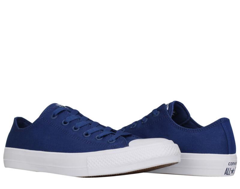 1893863da733 Converse Chuck Taylor All Star II Low Top Sodalite Blue Men s Shoes 150152C