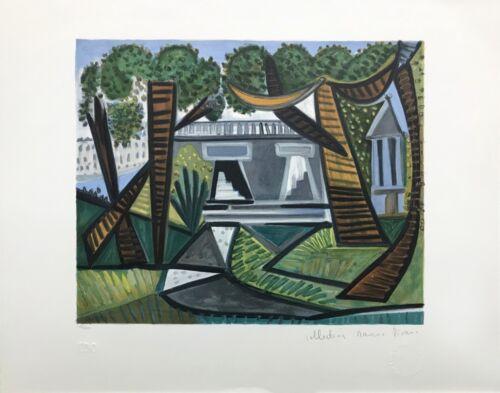 "Marina Pablo Picasso Estate ""le Verte Galant"" | Signed Print | Cubism | Gallart"