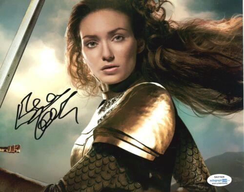 Eleanor Tomlinson Jack Giant Autographed Signed 8x10 Photo ACOA 2020-16