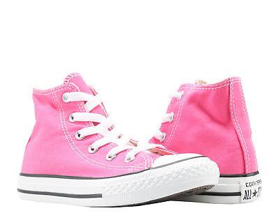 Converse Chuck Taylor All Star Pink Paper Little Kids High Top Sneakers 347132F (Converse Little Kid)