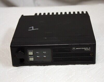 Motorola Radius M100 UHF Two Way Radio, 449-470 MHz, 2 Channel, 25W D34LRA73A5CK. Buy it now for 24.95