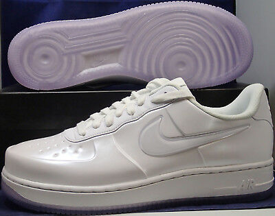 Nike Air Force 1 Foamposite Pro Cup Low White AF1 SZ 13 ( AJ3664-100 ) ()