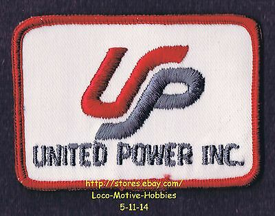 LMH PATCH Badge  UNITED POWER Inc. Electric Utility Cooperative Services UP Logo