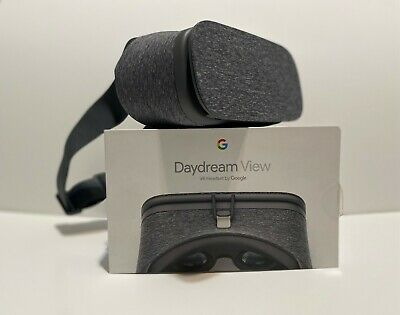 Google Daydream View 1st Generation VR Headset - Pixel Charcoal Gray Open Box