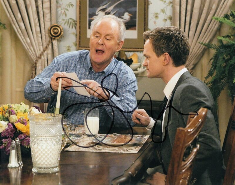 JOHN LITHGOW signed (HOW I MET YOUR MOTHER) TV SHOW 8X10 photo autographed W/COA