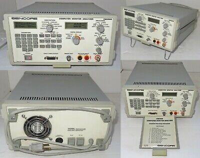 Sencore Cm2000 Computer Monitor Analyzer Works