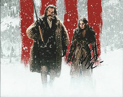 Jennifer Jason Leigh The Hateful Eight Hand Signed 8X10 Photo Proof Coa Look