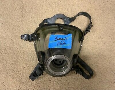 Scott Av2000 Av-2000 Rubber Headharness Firefighter Scba Mask Facepiece Small