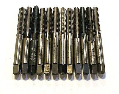 Machine Tap 9//16-12 BSW Thread Pitch 4 Straight Flute H2 High Speed Steel