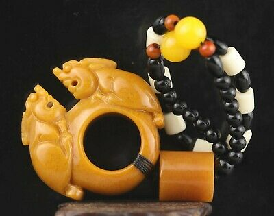 with these antique neolithic quartz beads .... The Glazes Of The Waves precious and unisex tribal bracelet