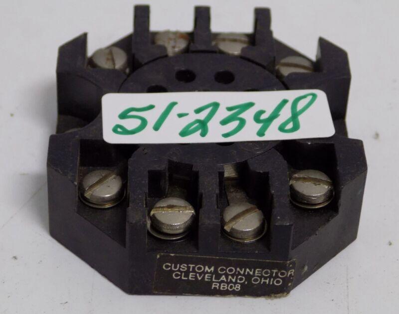 CUSTOM CONNECTOR RELAY SOCKET BASE RB08