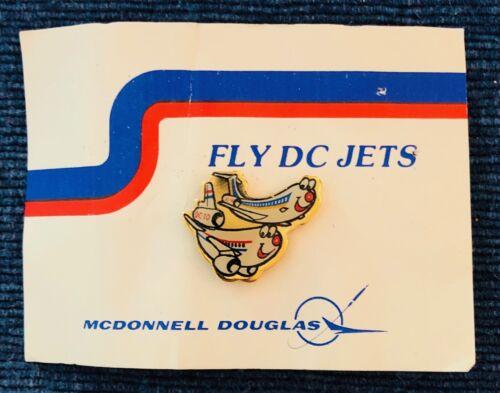 "McDonnell Douglas Lapel Pin - ""Fly DC Jets"""