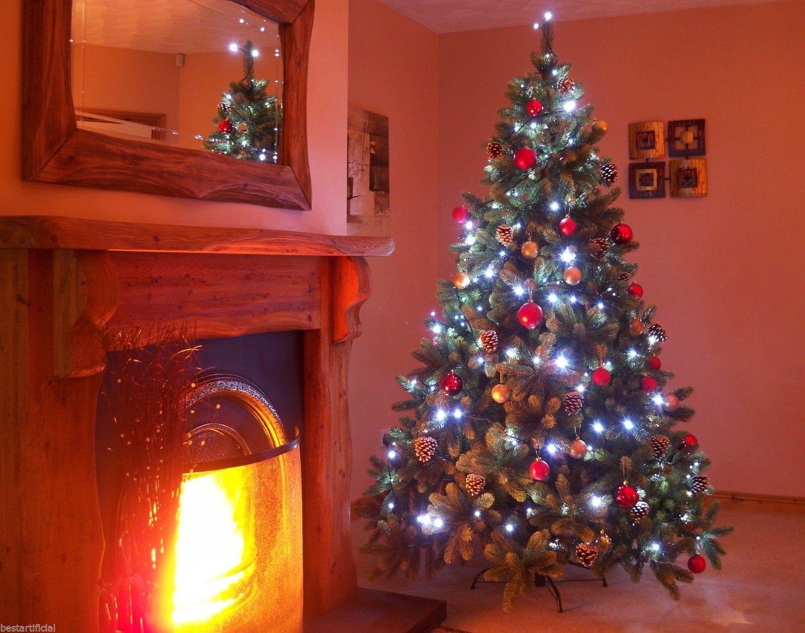 Secteur Alimenté Fée Lumière Intérieur Arbre de Noël de lumières de Noël Chaîne Multi Colored