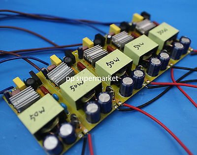 1pcs 50w High Power Driver Supply 85-265 V Constant Current Led Light Chip Lamp