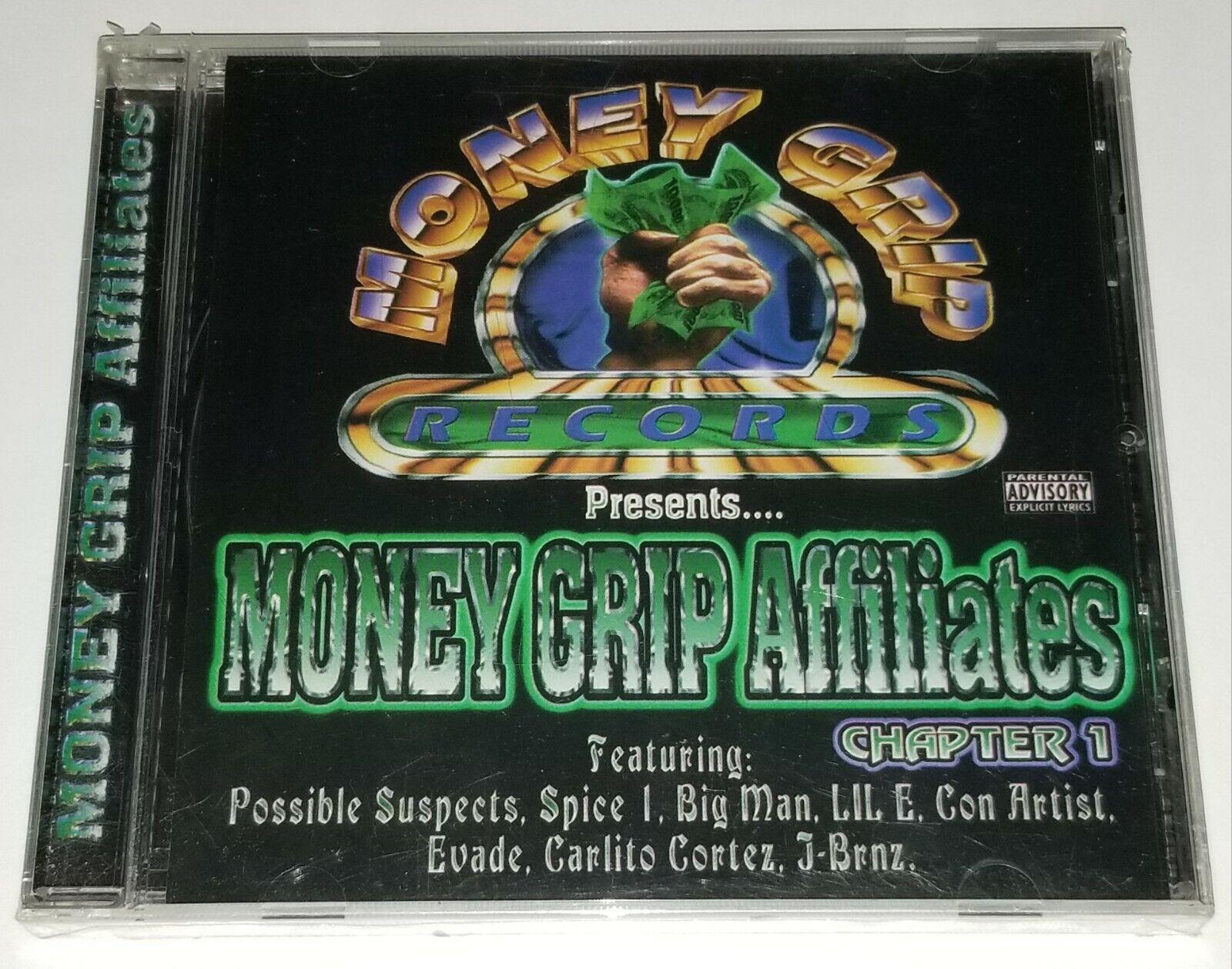MONEY GRIP AFFILIATES SEALED RAP CD SPICE 1 C-NOTE G FUNK LATIN CHICANO LIL E Lp - $70.00