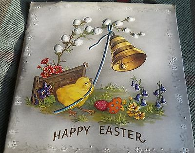 EASTER * Pop Up* speed-way Vintage Greeting Card by Flair unused