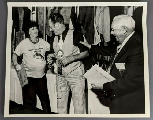 1982 Fraternal Order Eagles Grand Worthy Pres James Mason Al T Williams Photo
