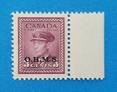 Canada stamp Scott #O3 MNH very well centered good original gum. Wide margins.
