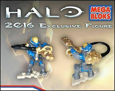 MEGA BLOKS HALO 2016 EXCLUSIVE FLAME MARINE FIGURE , new in sealed...