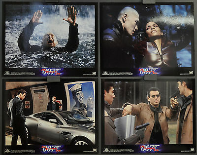 DIE ANOTHER DAY 2002 ORIG 11X14 SET OF 9 LOBBY CARDS PIERCE BROSNAN HALLE BERRY
