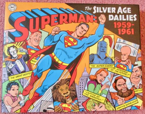 SUPERMAN THE SILVER AGE DAILIES 1959-1961 Hardcover