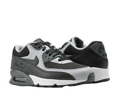 Nike Air Max 90 Essential Men's Running Shoes Black/Black-Wolf