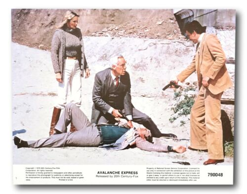 """""""Avalanche Express"""" Original 11x14 Authentic Lobby Card 1979 Poster #7  Marvin"""