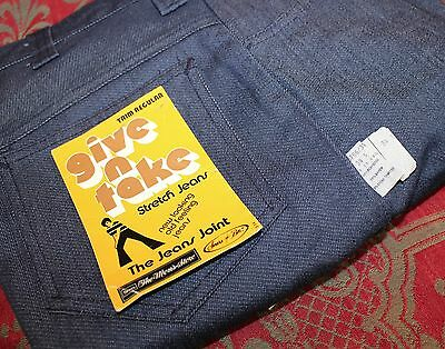 Men's Vintage Stretch Bell Bottom Jeans Sears Mens Store New with Tags