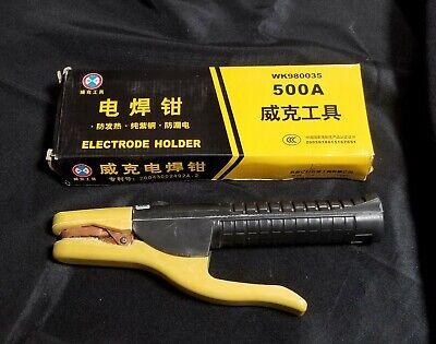 Vico Wk980035 500a Electrode Holder Stick Welder Rod Stinger Clamp Welding Tool