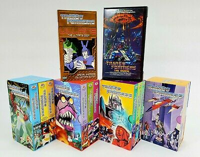 The Original Transformers (Volumes 1-12) on VHS - Plus Two Bonus VHS' - Complete