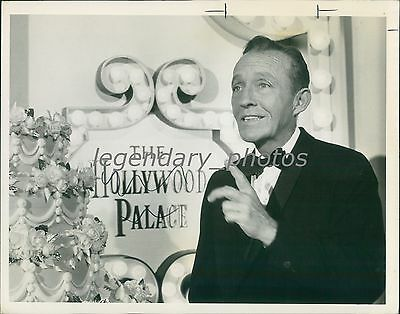 1974 Bing Crosby On The Hollywood Palace Original News Service Photo