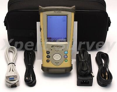 Topcon Fc-200 Gps Rtk Field Controller Data Collector W Pocket 3d V10.0.3
