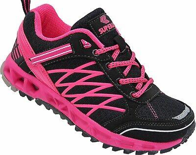 Damen Laufschuhe Sportschuhe Turnschuhe Sneaker Schuhe  Art.5711 schwarz-fuchsia Fuchsia Damen Schuhe