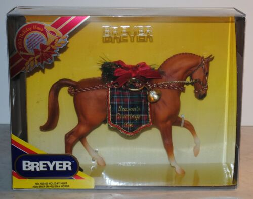 Breyer~2000~Holiday Hunt~Christmas Chestnut Roemer~NEW