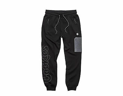 coliseum fleece jogger black grey men s