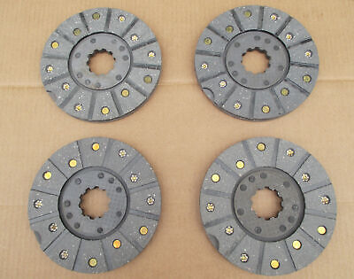 4 Brake Discs For Ih International 275 276 354 364 374 384 424 434 444 B-275