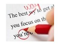 Quick and reliable proofreading service - Students / Businesses / Job Applications / Web Content