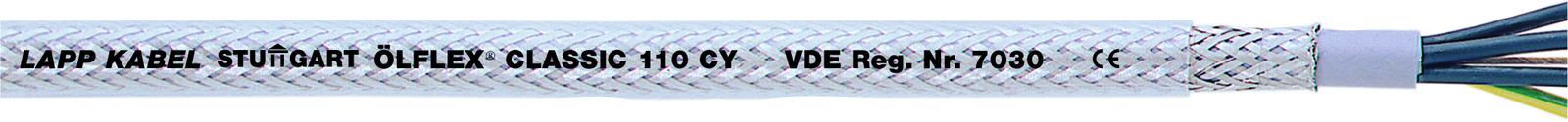 Lapp 1135104 ÖLFLEX CLASSIC 110 CY 4G0,75mm² Steuerleitung geschirmt ab 1 Meter