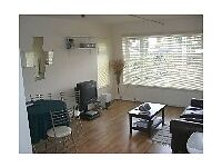 2 bed modern flat, just refurbished with SAUNA,LEATHER SOFA,NEW KITCHEN, quiet n convenient location