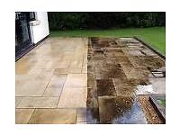 Patio, driveway, terrace cleaning