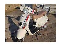 Baotian Monza 50cc Moped 64 Plate