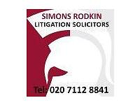 SR SOLICITORS EMPLOYMENT LAW DISCIPLINARY CHARGES & GRIEVANCES WC1 WC2 W1 W2 SW1 N1 N12 N13 N20 N3