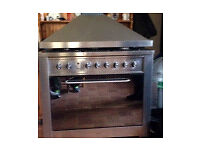 New gas oven and hob