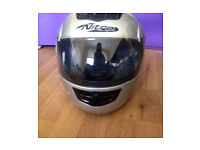 Nitro racing full face crash helmet small size Hardly worn Excellent condition