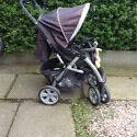 Baby buggy/pram urban detour