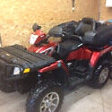 Polaris sportsman Touring 800 2009