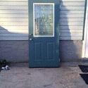 36x80 exterior door with hardware $200