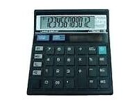 Cheap & experienced accountant/bkeeper £12