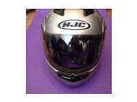 HJC MOTORCYCLE CRASH HELMET FLIP FRONT, SIZE: XL. VERY GOOD CONDITION . X
